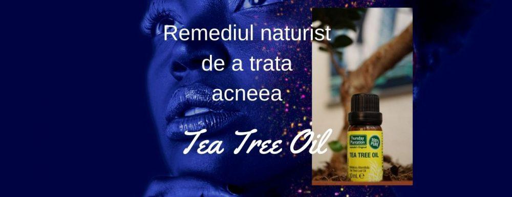 Remediul naturist de a trata acneea – Tea Tree Oil