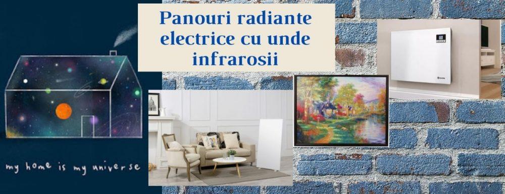 Panourile radiante electrice cu unde infrarosii,