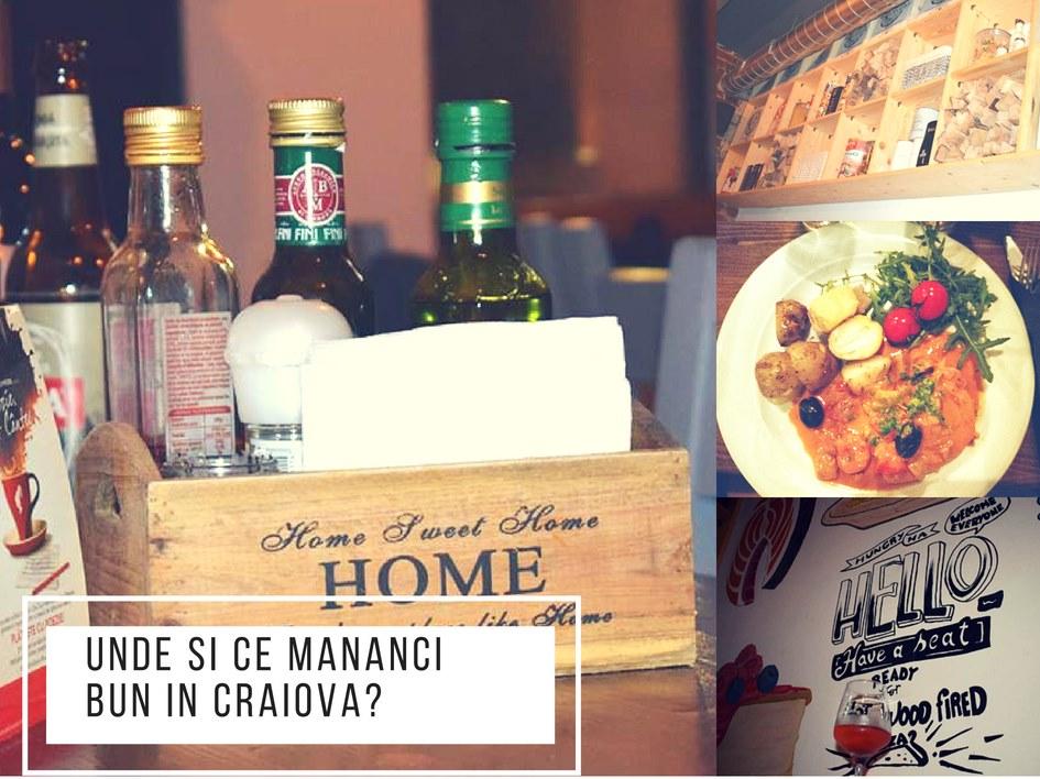 Unde si ce mananci bun in Craiova