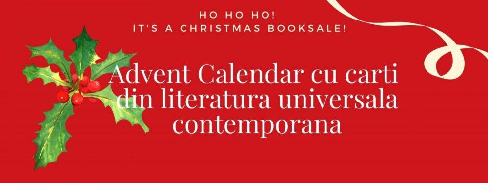 Advent Calendar cu carti din literatura universala contemporana