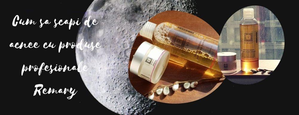 Cum sa scapi de acnee cu produsele profesionale Remary