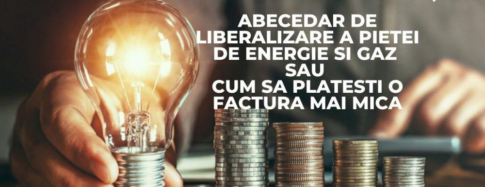 Abecedar de liberalizare a pietei de energie si gaz sau cum sa platesti o factura mai mica