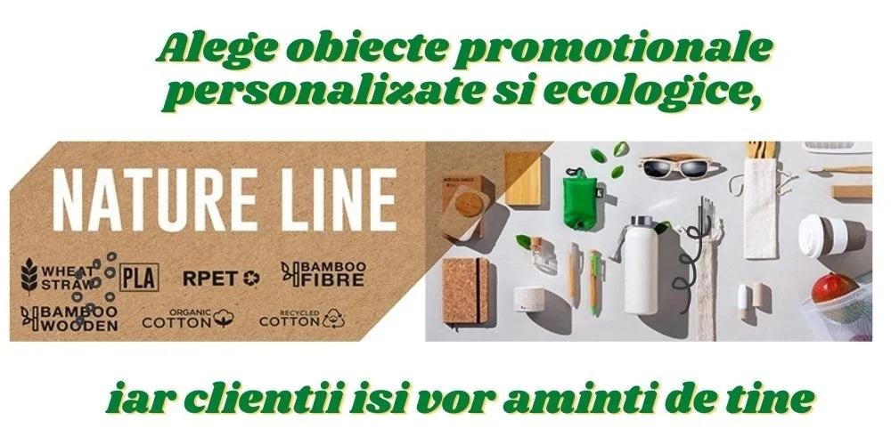 Alege obiecte promotionale personalizate ecologice