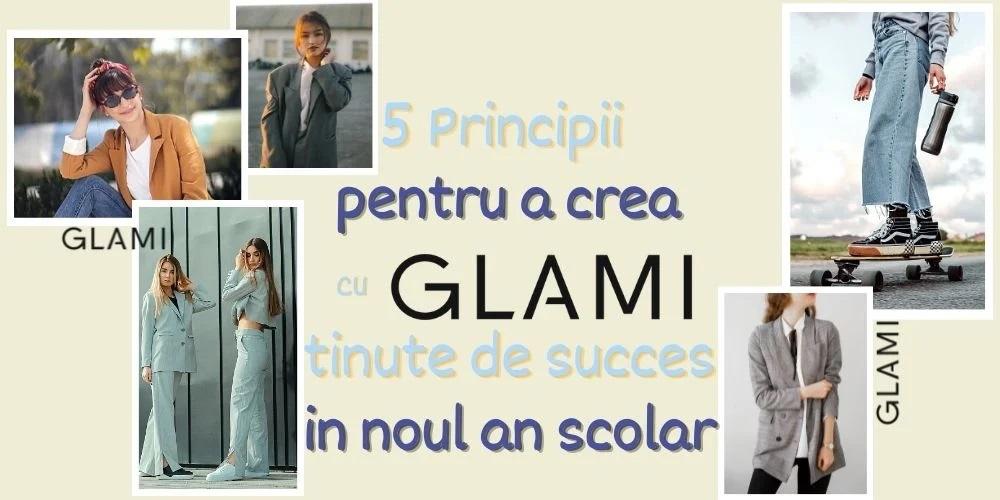 5 Principii pentru a crea cu Glami tinute de succes pentru noul an scolar